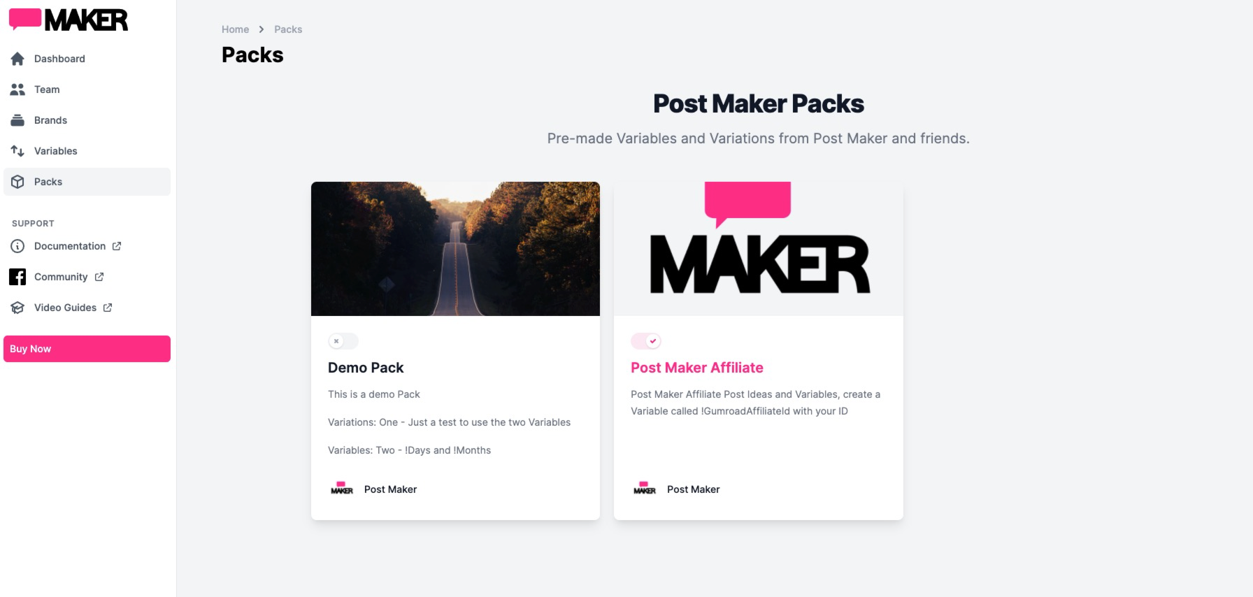 Post Maker Affiliate Pack